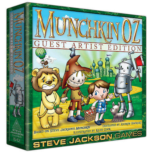 Munchkin Oz Guest Artist Edition - Katie Cook | Gamers Grove