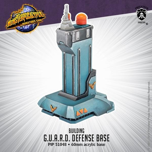 Monsterpocalypse: Building- G.U.A.R.D. Defense Base | Gamers Grove