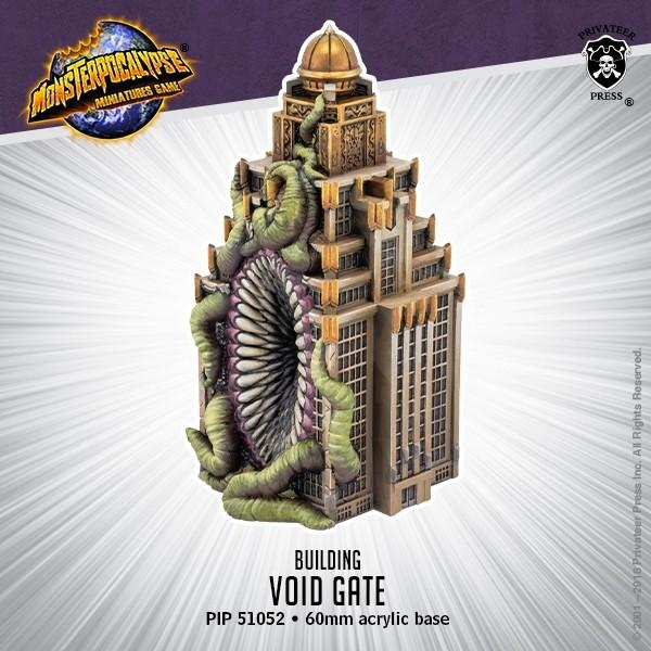 Monsterpocalypse: Building- Void Gate | Gamers Grove