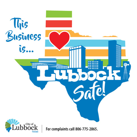 This Business is Lubbock Safe!