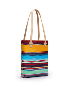Deanne Canvas Stripe Everyday Tote