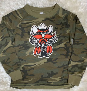 Raider Red Camo Sweatshirt