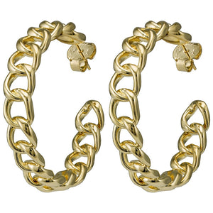 Small Chain Hoops