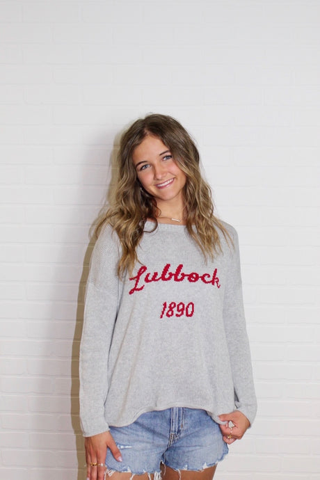 Lubbock 1890 Boxy Lightweight Sweater