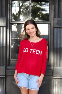 Go Tech Boxy Lightweight Sweater