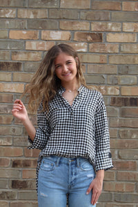Bryce Plaid Top