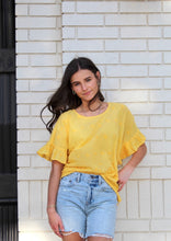 Yellow Mellow Top