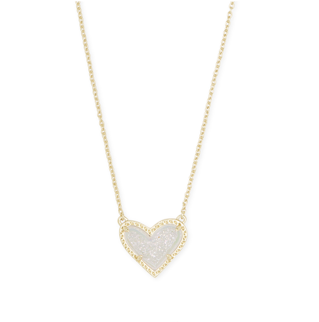 Ari Heart Gold Necklace