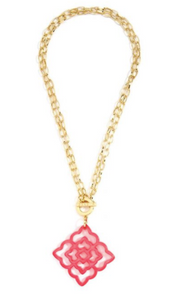 Rose Convertible Pendant Necklace