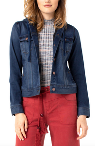 Lisa Hooded Denim Jacket