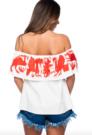 Birdie Off Shoulder Top
