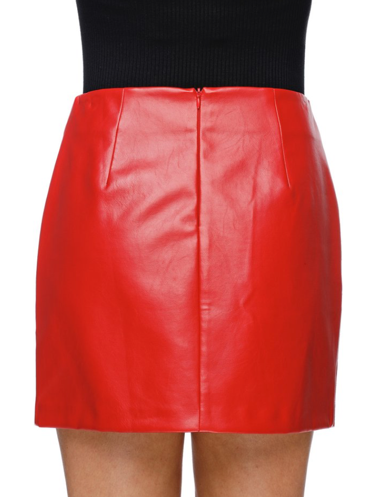 Madonna Leather Skirt