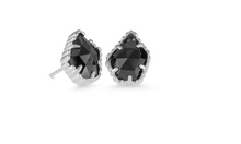 Tessa Silver Stud Earrings
