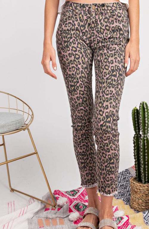 Cheetah Girl Skinny Jeans