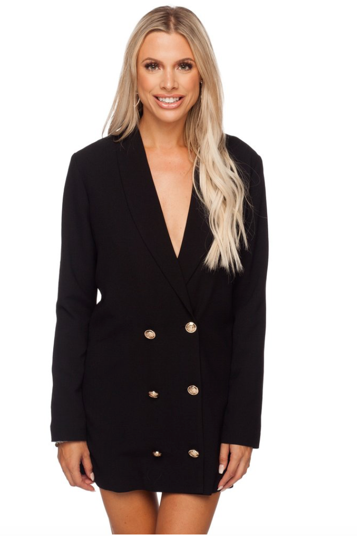 Carey Long Sleeve Blazer Dress