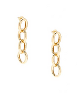 Chunky Chain Drop Earring