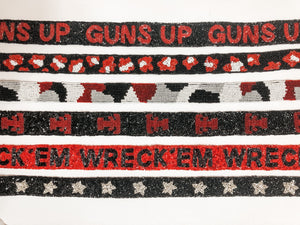 TTU Beaded Handbag Straps