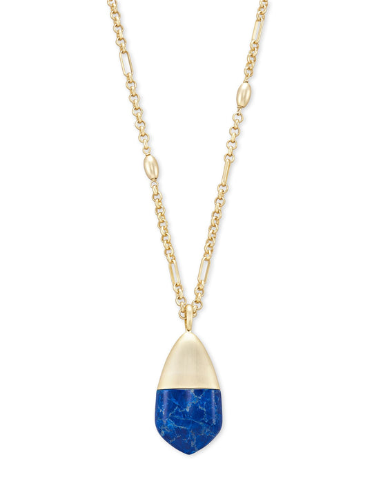 Frieda Gold Long Pendant Necklace
