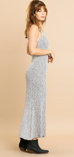 Date Night Knit Maxi Dress