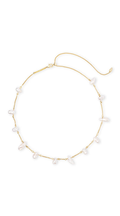 Krissa Barqoque Pearl Necklace