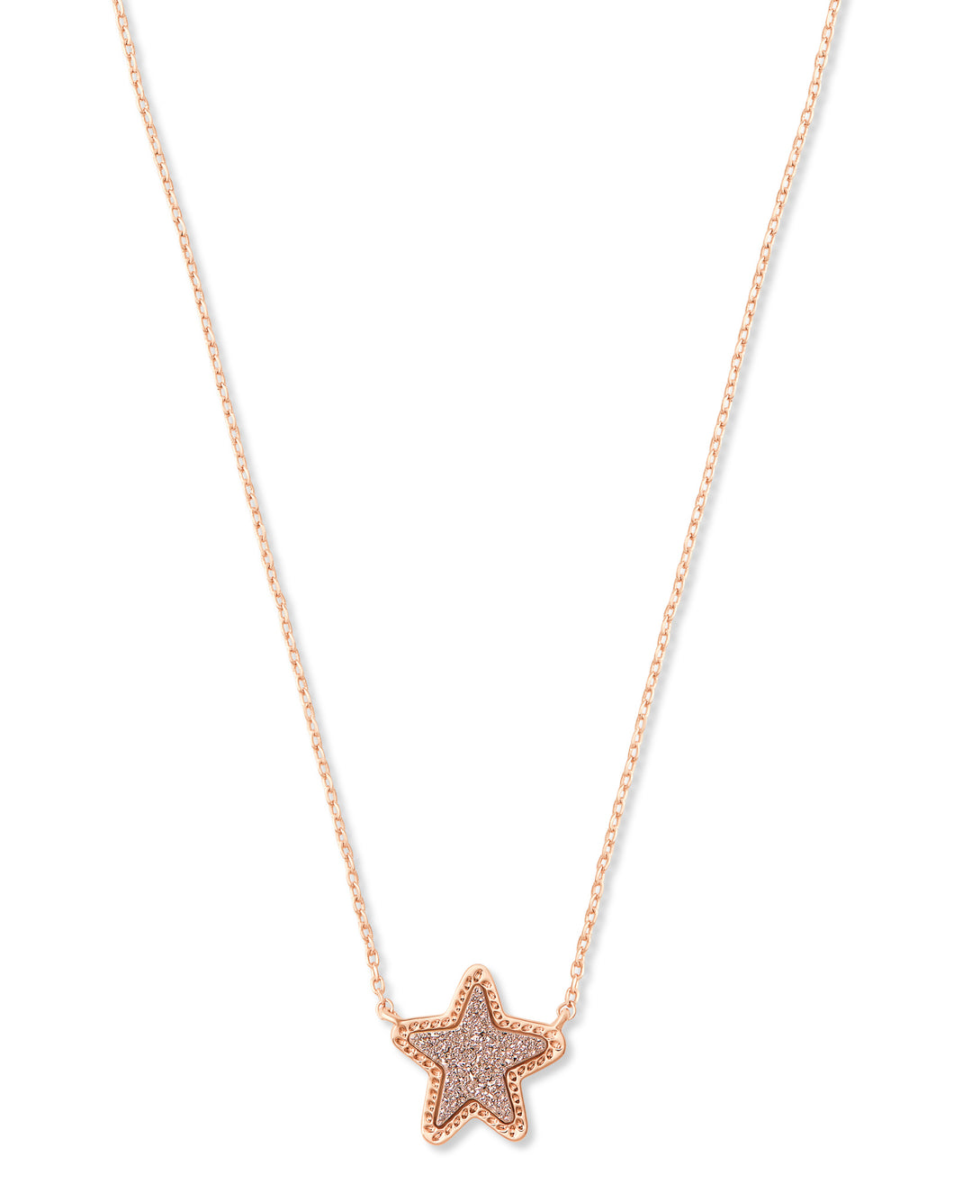 Jae Star Rose Gold Pendant Necklace