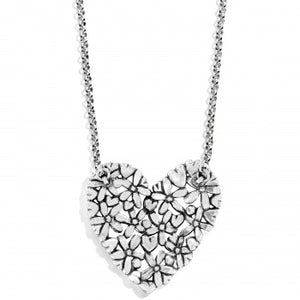 Love Bouquet Heart Necklace
