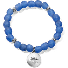 Sea Shore Compass Stretch Bracelet