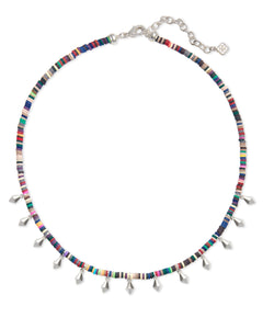 Reece Bright Silver Choker Necklace