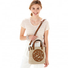 Willa Straw Tote