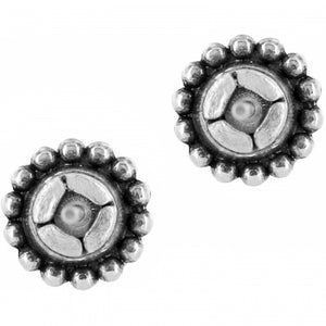 Twinkle Mini Post Earrings in Zircon