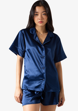 Load image into Gallery viewer, Short Silk Pyjama Top
