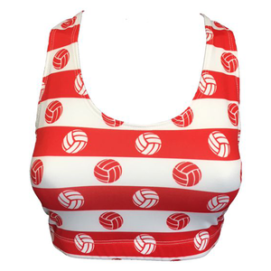 Sportabella USA Sublimated Volleyball Bra