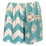 Sportabella Aqua Chevron Sublimated Soccer Short