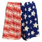 Sportabella USA Sublimated Field Hockey Loose Shorts
