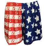 Sportabella USA Sublimated Soccer Loose Shorts