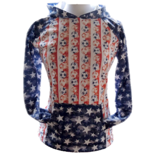 Sportabella USA Sublimated Soccer Bella Hood