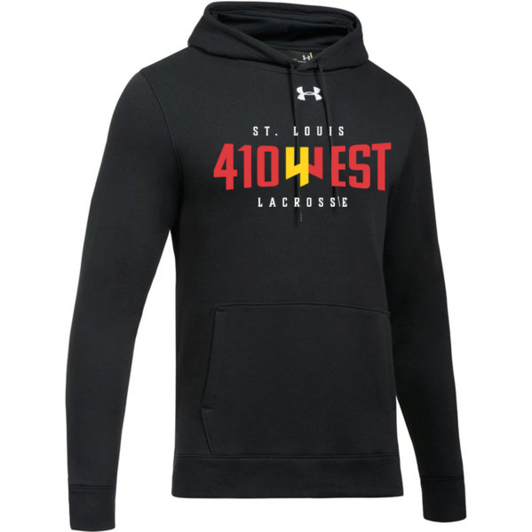 St Louis 410 West Lacrosse Under Armour Adult Hustle Fleece Hoody