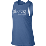 Sportabella Lacrosse Nike Dri-FIT Women's Yoga Training Tank