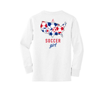 Sportabella Soccer Girls Youth Long Sleeve Core Cotton Tee