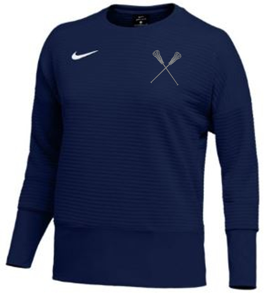 Sportabella Lacrosse Nike Women's Dri-Fit Double Knit Crew Top