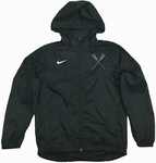 Sportabella Lacrosse Nike Youth Pregame Full Zip Jacket with Hood