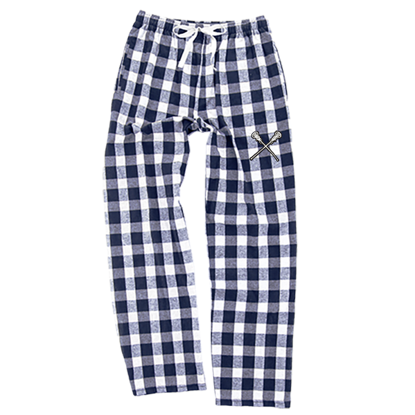 Sportabella Lacrosse Adult Flannel PJ Pant with Pockets