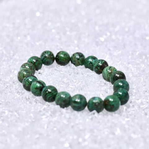 Chrysocolla 10mm Bracelet