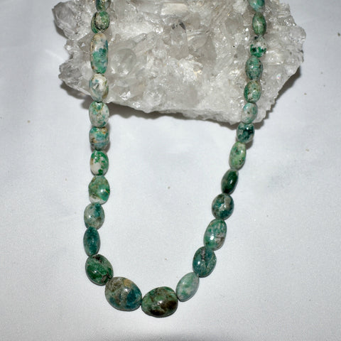 Emerald & Calcite Necklace