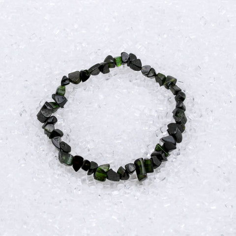 Tourmaline Bracelet Green Chip