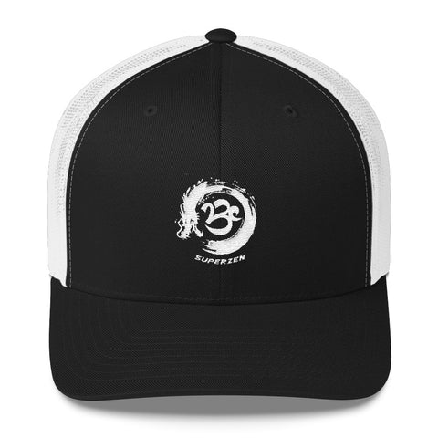 SuperZen Power Dragon Trucker Hat - Feel the Zen