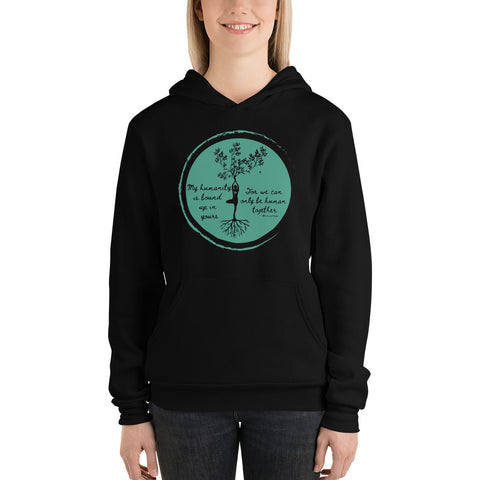 Zen Wear Unisex Sweatshirt - My Humanity is bound up in yours. For We Can only be human together