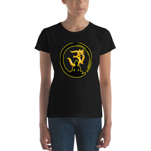 Women's Zen Buddha T-Shirt - Empower Yourself and Find Your Zen