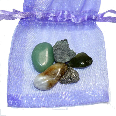 Prosperity Healing Pouch - Crystalis Treasures