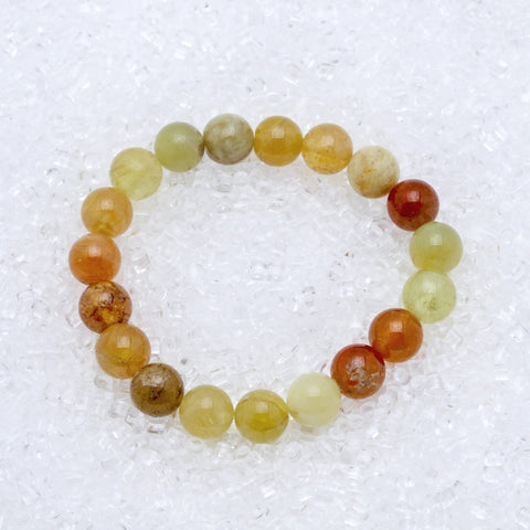 Rutilated Quartz Bracelet 10mm